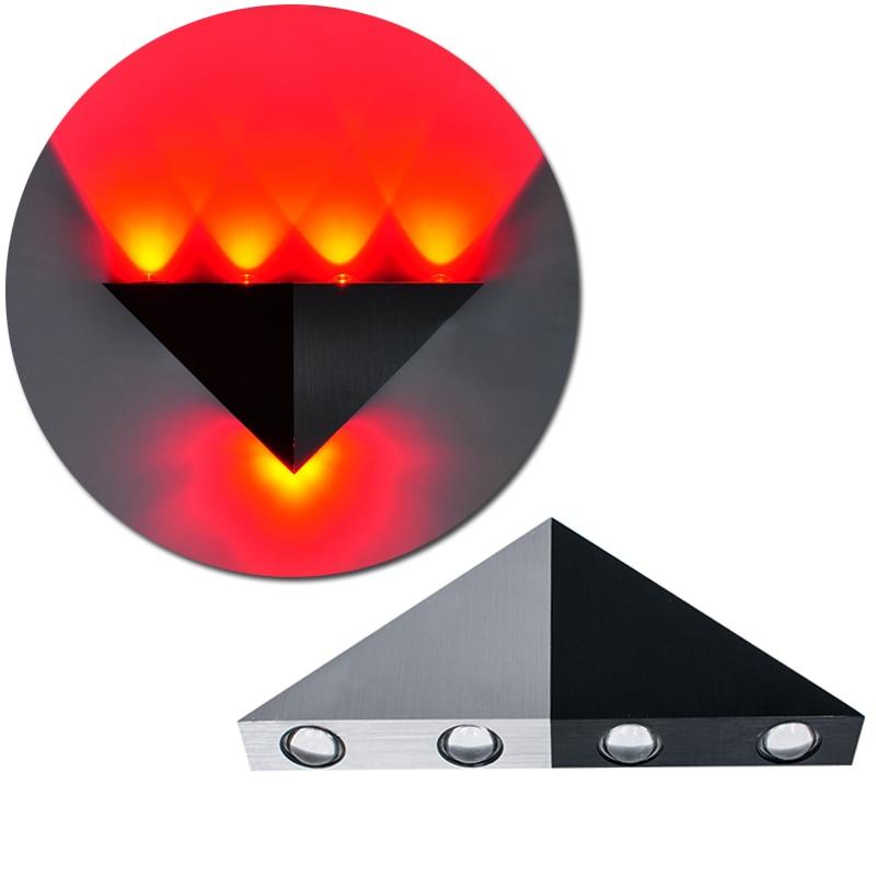 Новый Треугольники светодиодный бра кафе Паб холле отеля дорожки профнастил потолочный светильник лампа 5 Вт