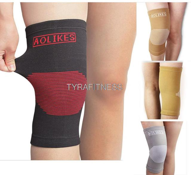 749b354adb Breathable Soft Knee Pads Brace Mcdavid Basketball Tennis Volleyball Hex Pad  Elbow Guard Support Shin