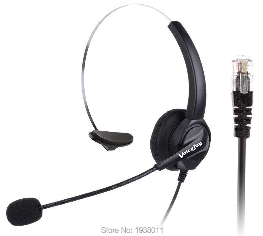 RJ9 headset Für AVAYA IP Handys: 1608,1616, 9601,9608, 9610