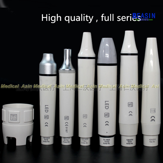 NEW  Dental Ultrasonic scaler handpiece Woodpecker Detachable Handpiece for EMS woodpecker DTE Satelec Scaler Deasin