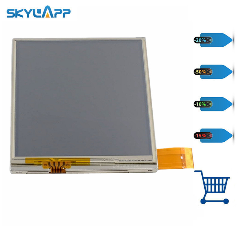 Skylarpu 4 inch LCD screen for LMS400CB01 LMS400CB01-001_REV0.3A LCD display screen with Touch screen / PDA/ Handheld device 8 4 inch lm bj53 22ndk lcd screen
