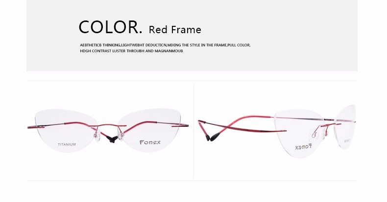 rimless women cat eye glasses silhouette fashion eyewear eyeglasses (10)
