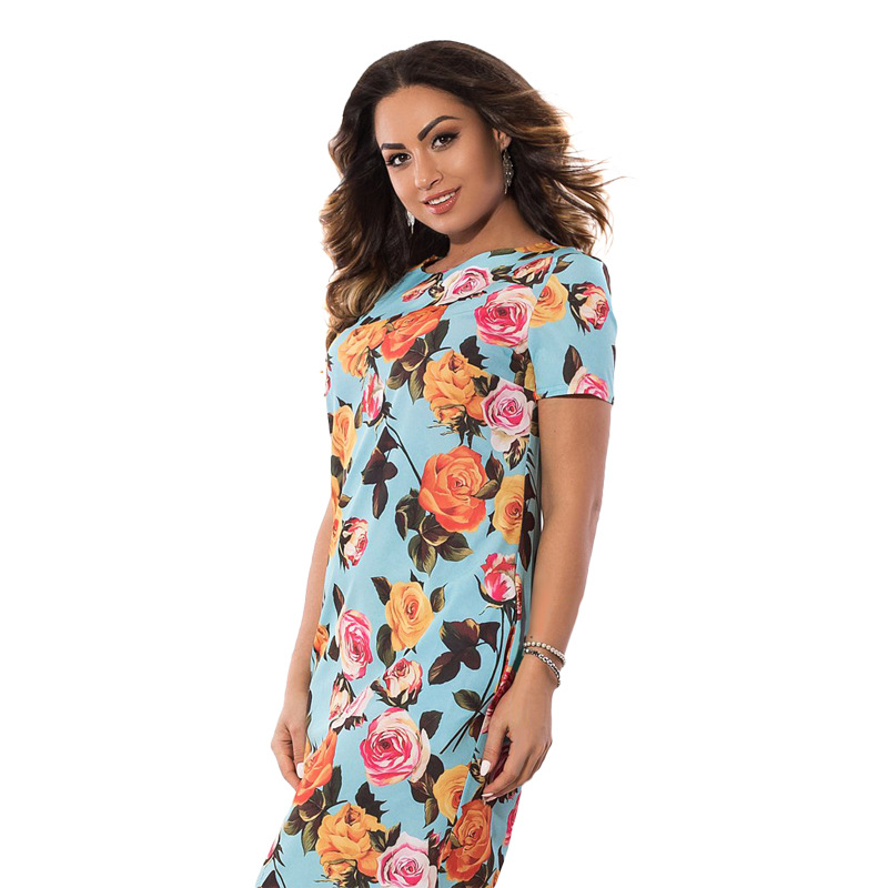 HTB1yPaLXcrHK1JjSszeq6AuMFXaR 2019 Autumn Plus Size Dress Europe Female Fashion Printing Large Sizes Pencil Midi Dress Women's Big Size Clothing 6XL Vestidos