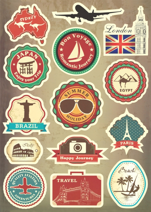 Online Get Cheap Luggage Stickers Vintage -Aliexpress.com ...