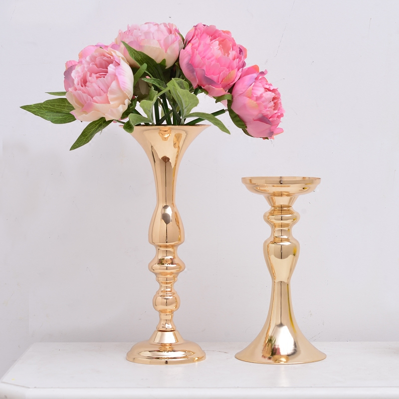 Flower Vases For Weddings: Europe Metal Flowers Vase Modern Vase For Flowers Home