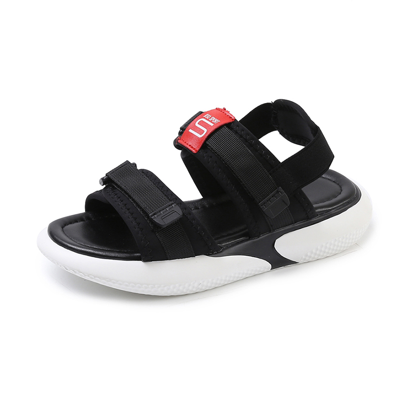 Summer 2018 new flat sandals female students wild magic stickers casual shoes. 53