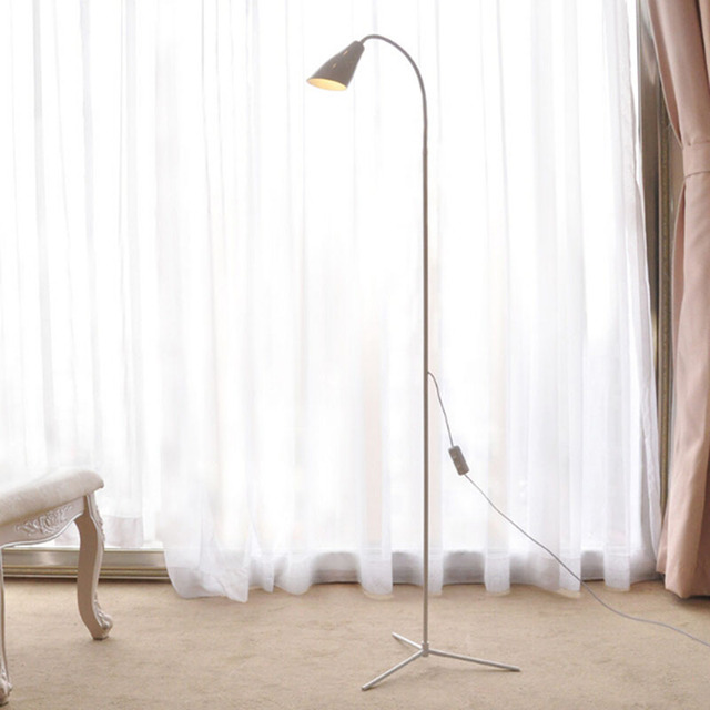 Modern Simple 6W LED Floor Standing Lamp Bedside Floor Lamp Brightness  Standing Floor Light Reading Lamp