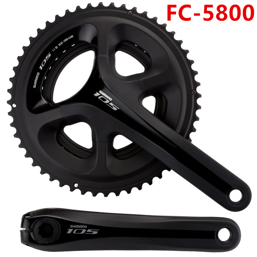 shimano FC-5800 11s road bike chain wheel cycling bicycle crankset 165mm 175mm crank free ship west biking bike chain wheel 39 53t bicycle crank 170 175mm fit speed 9 mtb road bike cycling bicycle crank
