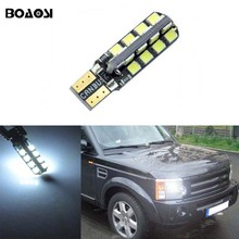 BOAOSI 1x T10 Error Free SAM SUNG LED Canbus Clearance Light For Land Rover v8 discovery 4 2 3 x8 freelander 2 defender A8 a9(China)