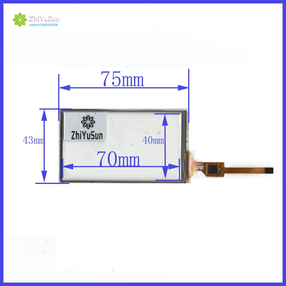 ZhiYuSun quot XXJ CTP32001 V2 75mm 43mm New 3 2 inch Capacitive touch digitizer panel forDigital camera navigation 75 43 in Tablet LCDs amp Panels from Computer amp Office