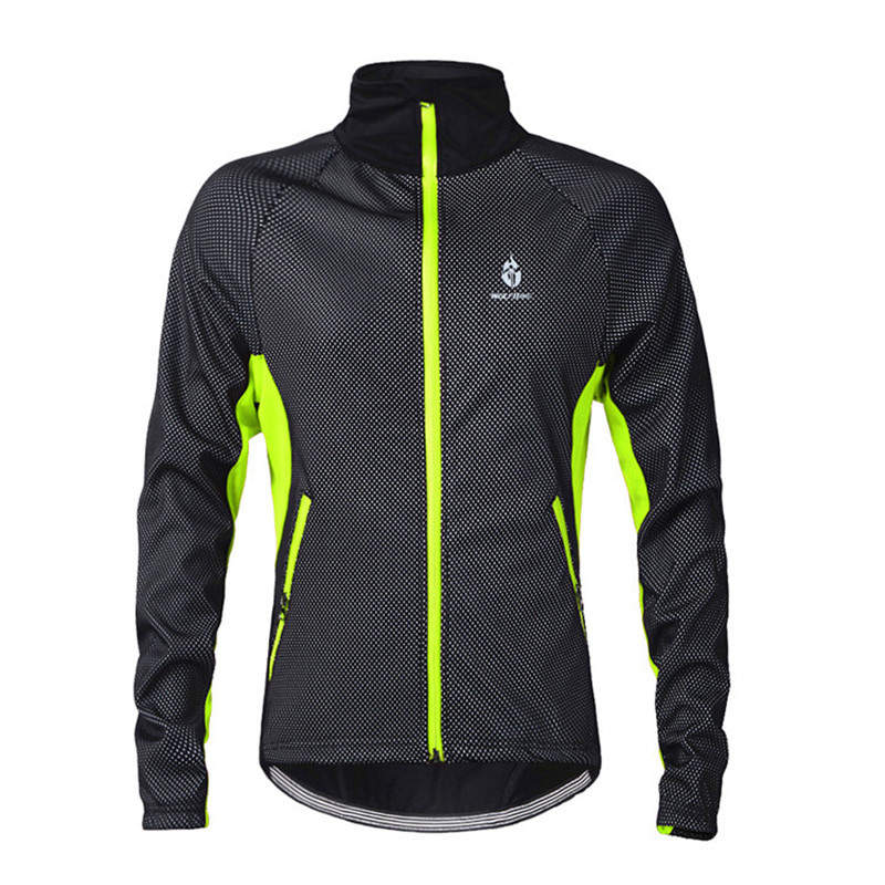 Cycling Winter Jacket Reflective Waterproof Cycling Jackets Men Women casaco ciclismo velo jacke mtb thermal bicycle