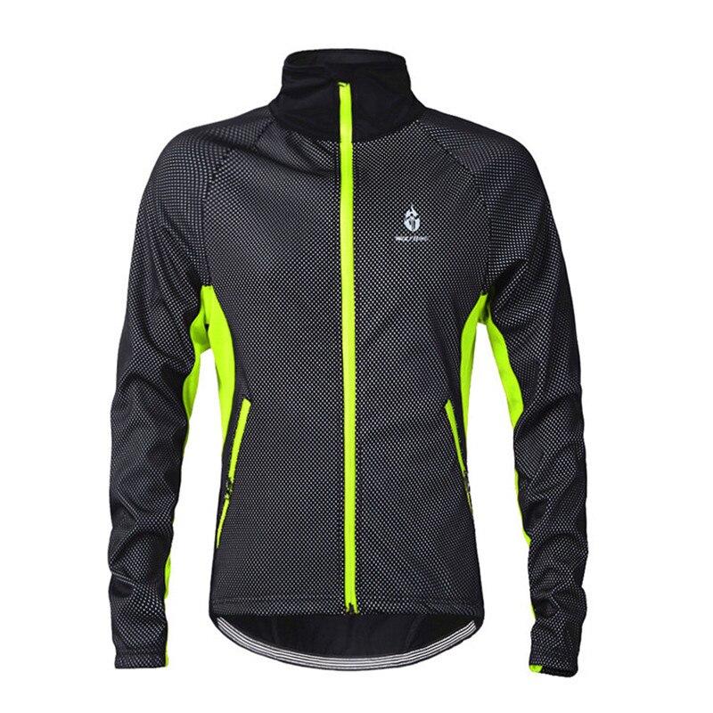 Veste d'hiver de cyclisme veste de cyclisme imperméable réfléchissante hommes femmes casaco ciclismo velo jacke vtt veste de vélo thermique 3XL