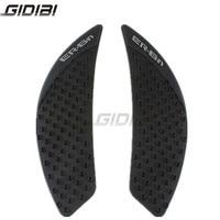 Motorcycle Decals 3D Tank Traction Pad Side Gas Knee Grip Protector For Kawasaki NINJA650/ ER 6N 2010 2015 11 12 13 14