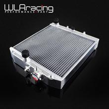 WLR гоночный-52 мм 3 ряд Полный алюминиевый радиатор для HONDA CIVIC B18C/B16A 32 мм в/из WLR-SX104
