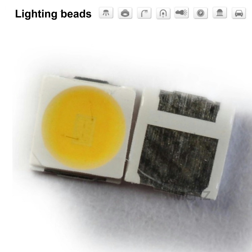 200 pièces OSRAM 3030 2835 3528 1 W naturellement whit SMD/SMT LED SMD 3030 LED montage en saillie 9 V 9.6 V Ultra Birght puce de diode LED