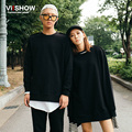 VIISHOW Brand Pullover Men Hoodie Casual Hip Hop Long Sleeve Hip Hop Lovers Solid Black Casual Solid Men Clothing WDY2363