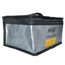HRB 215x155x115 millimetri A Prova di Fuoco di Rc LiPo Batteria Portatile A Prova di esplosione Sacchetto di Sicurezza Guardia di Sicurezza Carica sacco