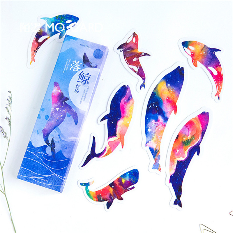 1 Pack Animal Whale Paper Bookmark Papelaria Boekenlegger Bookmarks For Read Books Holder School Supplies Stationery 01450