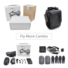 DJI Mavic Pro/ Fly More Combo Quadcopter 4K HD Camera 3 Axis Gimbal 7 KM  Recording Remote Control 12 Channels Cameria Drones