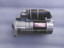 Yangdong YND485T engine parts the starter motor please check the shape and motor model when make