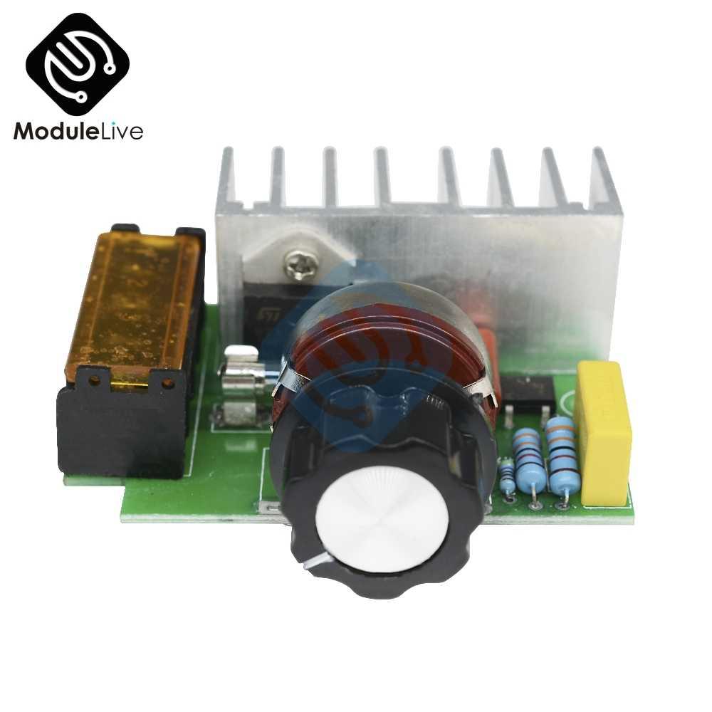 4000 Вт 0-220 В AC SCR стабилизатор электронапряжения контроллер скорости двигателя Плата расширения Модуль кремния регулятор платы