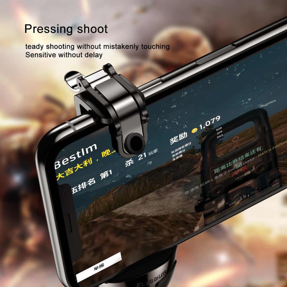 Baseus для PUBG игры геймпад для IOS Android джойстик для игр L1 R1 игра для мобильного телефона шутер контроллер триггера кнопка для стрельбы ручка