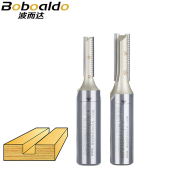 цена на 1PCS 1/4 1/2 Shank Two flutes Straight Bits Jointing Grooving Rabbet  endmill milling cutter Arden Router Bit