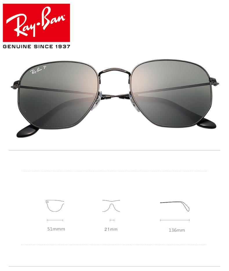 RayBan Resin Half frame personality avant garde,RayBan Glasses For ...