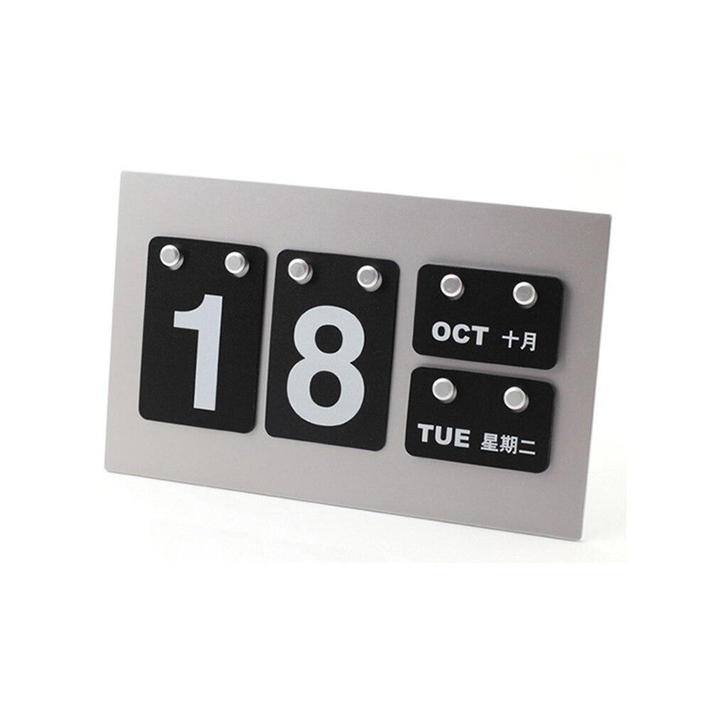 2018 DIY Calendar Table Calendar Card Business Calendar School Supplies never leather badge holder business card holder neck lanyards for id cards waterproof antimagnetic card sets school supplies