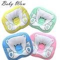 New Brand Baby Pillow Prevent Flat Head Babies Newborn Bear Cotton Cushion Infant AntiRoll Sleep Nursing Shaping Pillow tyh50427
