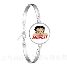 Teacher's Day Gifts Chain Bracelet Bee Picture Merci Maitresse Silver Plated Bangle For Women Men Charm Merci Maitresse Jewlery(China)