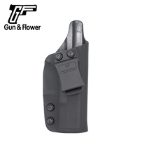 Gunflower Tactical Accessory Kydex Clip Holster Gun Pouch for Glock 19/23/32