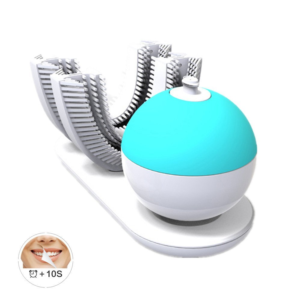 Teeth Whitening Sonic Intelligent Lazy Electric Toothbrush Adult Automatic Toothbrush 10 Seconds Brushing Wireless Charging цена