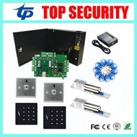 TCP/IP L02 door access controller smart card 125KHZ EM card control system with time attendance function access control