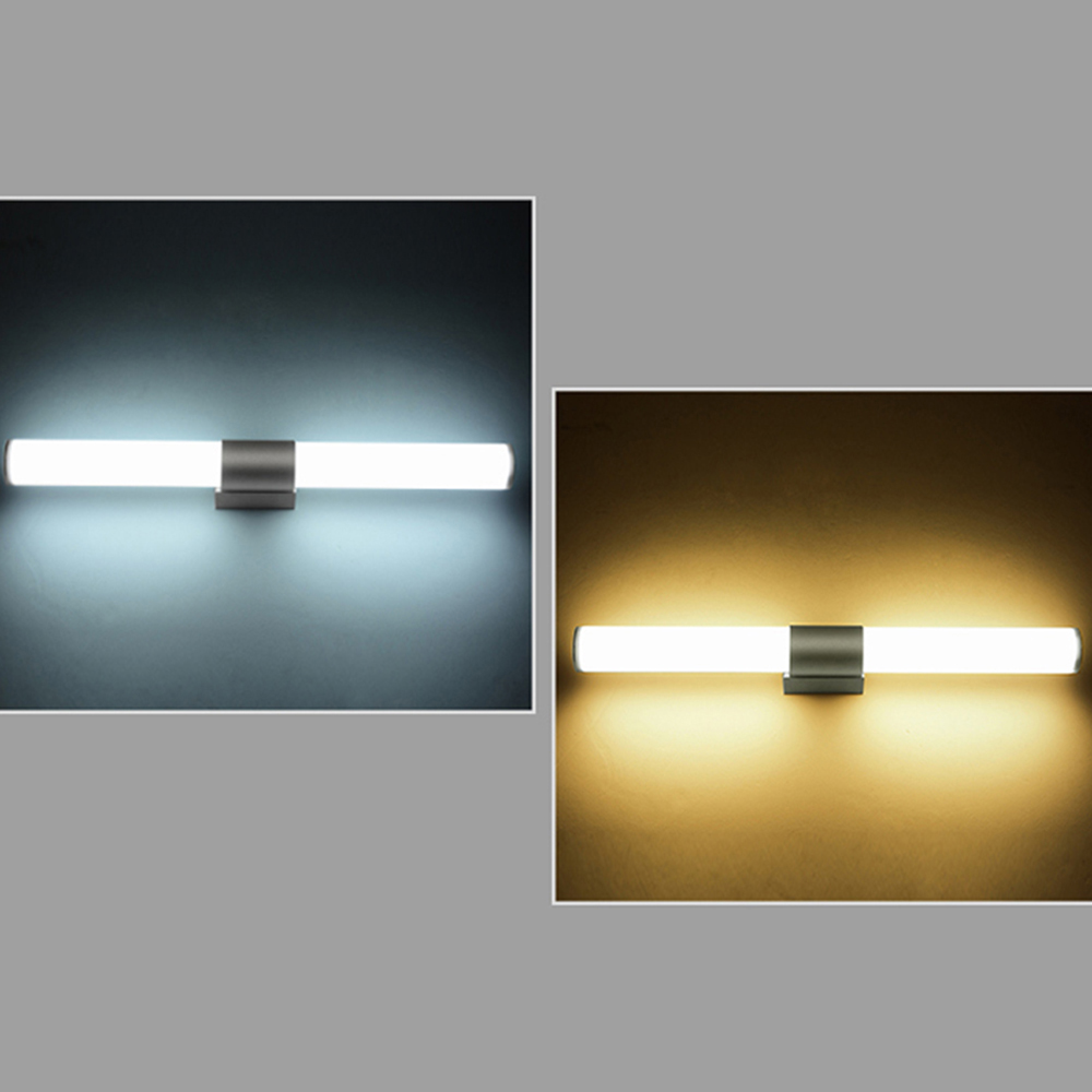 Wall Lamps Bathroom Led Mirror Light Waterproof 12W 16W 22W AC85-265V LED Tube Modern Wall Lamp Bathroom Lighting