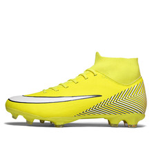 studieux WAO 2019 FG Soccer Shoes Men XII Boots High Ankle Outdoor Cheap Football shoes Cleats Superfly Sport Shoes Sneakers Men