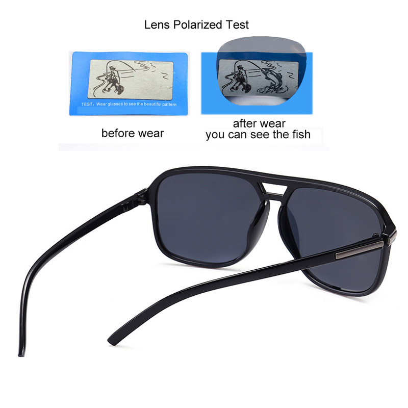 80d2a714772f5 Luxury Polarized Sunglasses Men Flat Top Square Sun Glasses Mens Driving  Shades Male Sports Fishing Goggles Oculos-in Sunglasses from Apparel  Accessories on ...