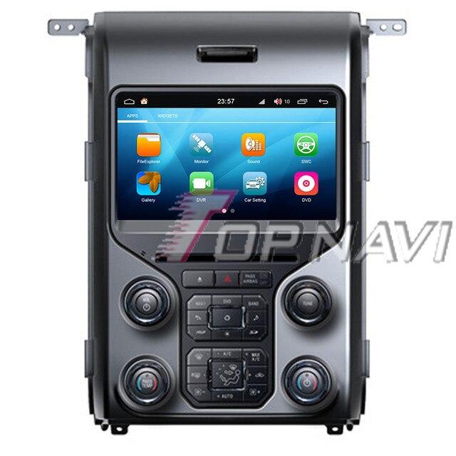 Topnavi octa core 8 안드로이드 8.0 차량용 dvd 플레이어, 포드 f150 2012-2013 오디오 오토 라디 오 스테레오 2din gps 네비게이션