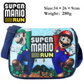New Cartoon Bag Super Mario Shoulder Bag For Kids Messenger Bag For School Girls Boys Children Birthday Gifts