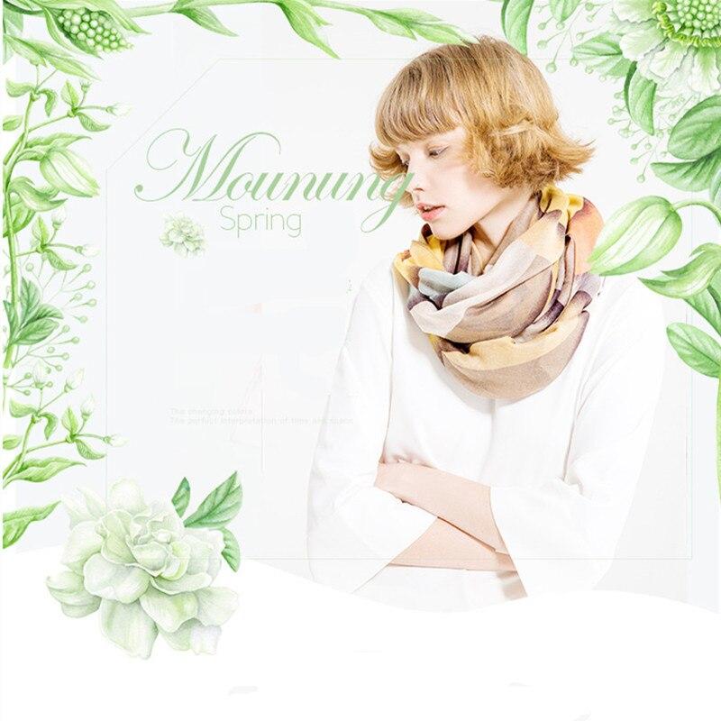US SELLER FREE SHIPPING flower boho retro two-sided satin long narrow scarf MR1