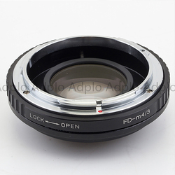 VENES FD lens to M4/3 Focal Reducer Speed Booster, Adapter ring For Micro Four Thirds 4/3 Camera, For Panasonic LUMIX GX9 GX85