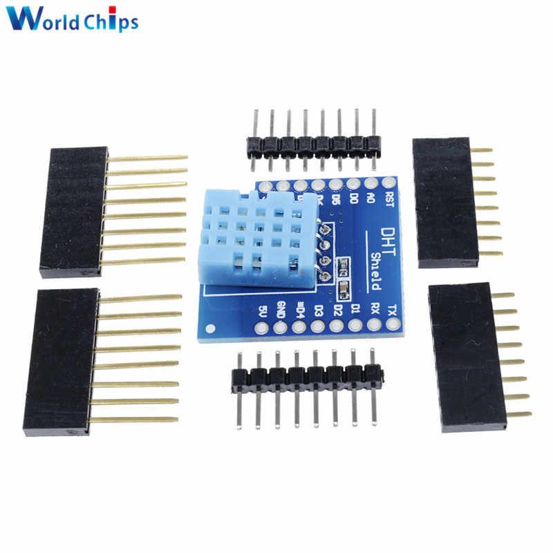 "Kit de bricolaje 0,66 ""botón OLED Micro SD controlador de Motor/TF SHT30 Proto Board ESP8266 D1 Mini Pro WiFi desarrollo NodeMcu para WeMos D1"