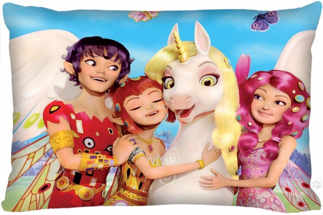 UKPI-LF154 New Arrival Custom mia and me Zippered Rectangle Pillowcases s Size 35X45cm (one sides) D54