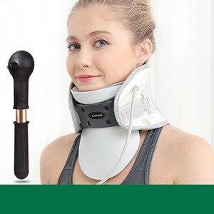 Image 3 - Medical Neck Traction Device Cervical Spondylosis Neck Brace Inflatable Support Intelligent Control Stretch Fix Post corrector