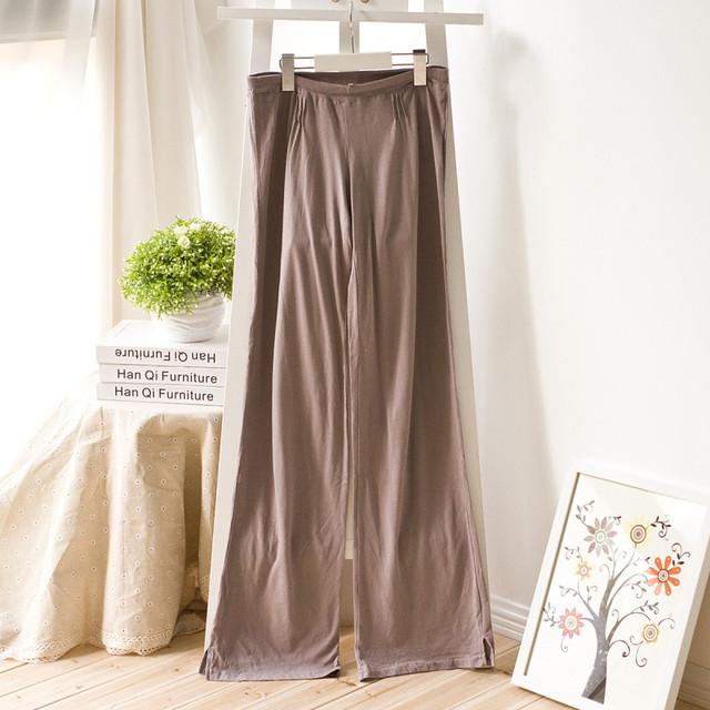 2016 Pantalones de Primavera Y Verano Modal de Algodón Breve Pantalones del Salón de Pijama Pantalones Pantalones de Pijamas
