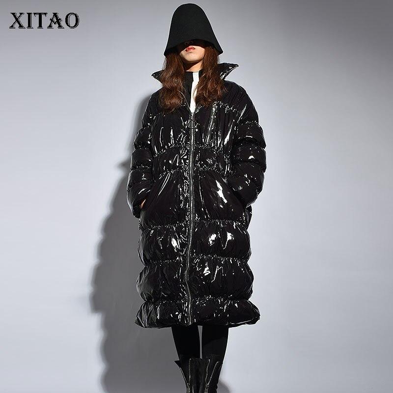 XITAO Women 2018 Autumn Korea Fashion New Women Full Sleeve Coat Female Casual Solid Color