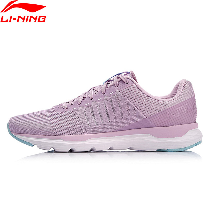 Li Ning Women ACE RUN Running Shoes Light Weight Wearable LiNing Sport Shoes Fitness Breathable Sneakers