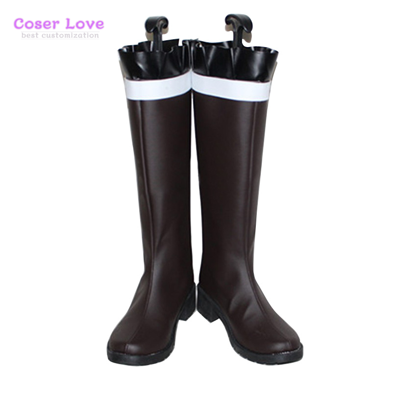 DIABOLIK LOVERS Komori Yui Cosplay Carnaval Shoes Boots Halloween Christmas Shoes