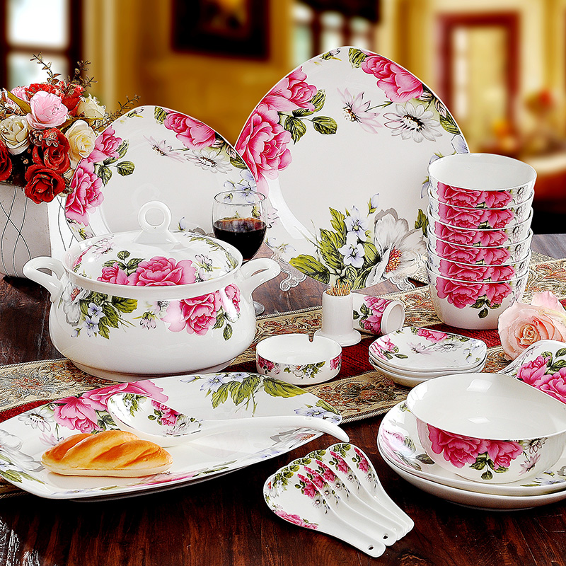 New Year Fine Bone China Dinnerware Sets Diligent Royal,porcelain Dinner/tableware  Sets In Dinnerware Sets From Home U0026 Garden On Aliexpress.com | Alibaba ...