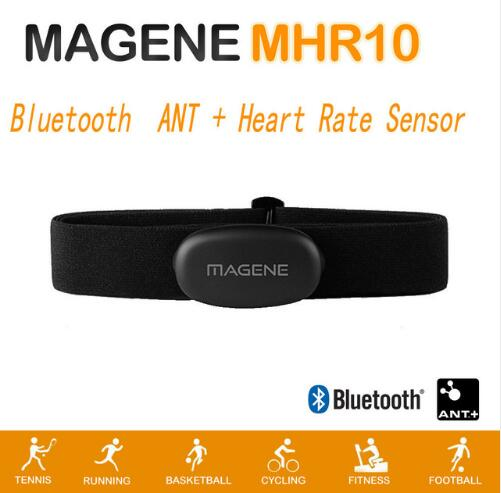 Bluetooth4.0 ANT+Heart Rate Sensor Compatible GARMIN Bryton IGPSPORT Computer Running Sports Bike Heart Rate Monitor Chest Strap image